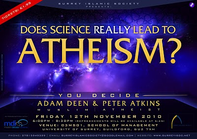 Does science really lead to atheism ?  Surrey University